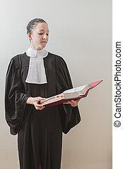 lezende , wet