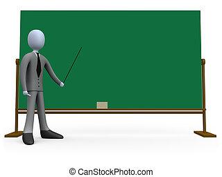 lezione, affari