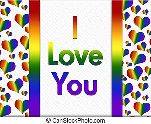 LGBT I Love You Message