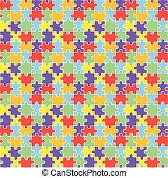 lgbt, puzzle, seamless, modèle