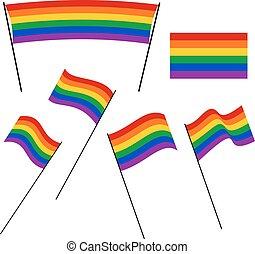 LGBT Rainbow Flags