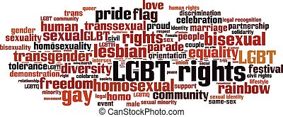 LGBT rights-horizon [Converted].eps - LGBT rights word cloud...