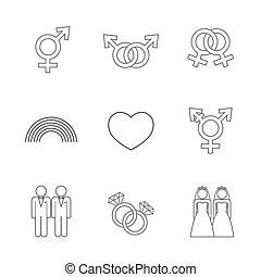 LGBT symbol icon