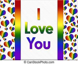lgbt, szeretlek, üzenet