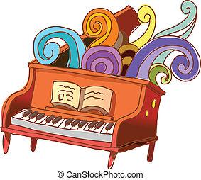 lição piano