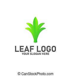 liść, logo