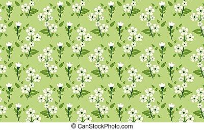 liść, wiosna, tapeta, piękny, tło., kwiat, rocznik wina