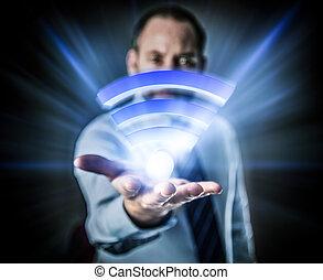 Li-Fi High Speed Wireless connection - Li-Fi W-Lan...
