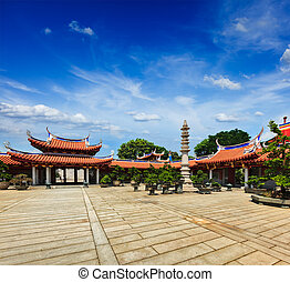 lian, shan, lin, shuang, klooster