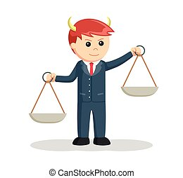 liar male lawyer illustration design
