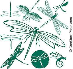 libélula, cobrança