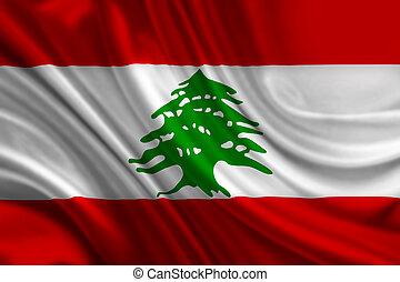 libanon, het watergolven dundoek
