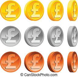 libbra, monete