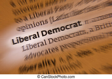 Liberal Democrat - Dictionary Definition - The Liberal...