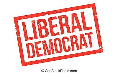 Liberal Democrat rubber stamp