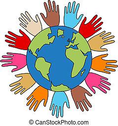 liberdade, paz, diversidade