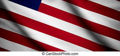 Liberia - High detailed waving flag of different countries ...