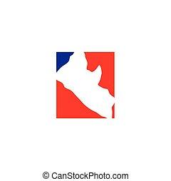 liberia map logo icon vector symbol element