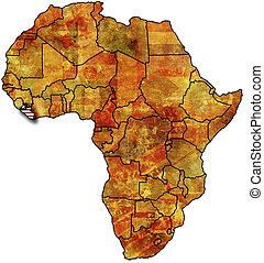 liberia old map