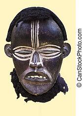 liberiaan, van een stam maskeren, afrikaan