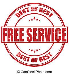 libero, servizio