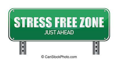 libero, stress, zona, giusto, avanti