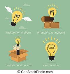 libertà, concetto, idea, sebbene