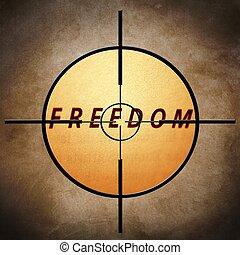 liberté, cible