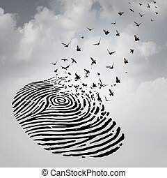 liberté, concept, identité