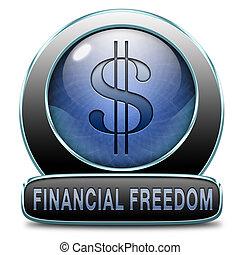 liberté, financier