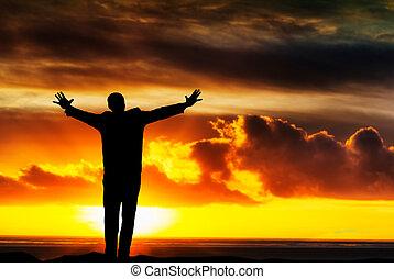 liberté, reussite, espoir