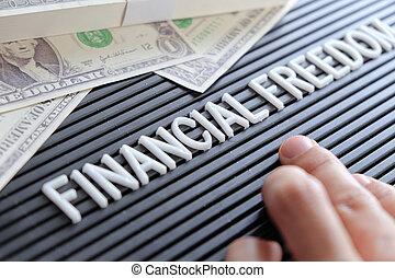 libertad, concepto, financiero