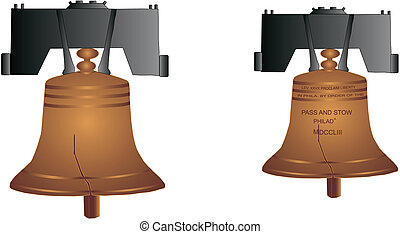 Liberty Bell made by Stow and Pass illustration