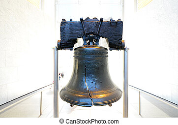 Liberty Bell in Philadelphia, Pennsylvania.