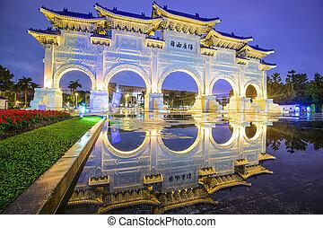 Liberty Square of Taipei - Taipei, Taiwan gate at Liberty...