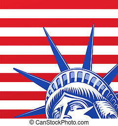 Liberty Statue Face