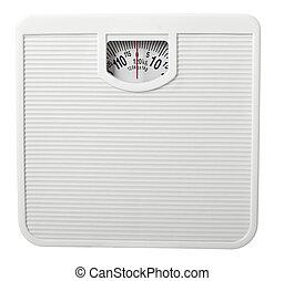 libra, fita, dieta, escala, medida