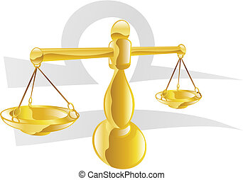 Libra the scales star sign