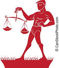 Libra Zodiac/Horoscope Symbol