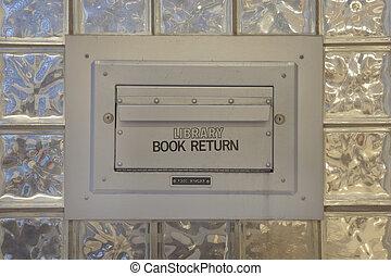 library book return box