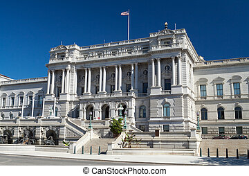 Library of Congress Washington DC Beaux-Arts Architecture