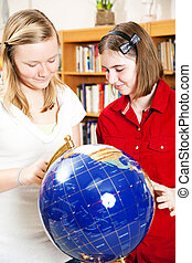 Library - Using Globe