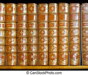 libri, dorato