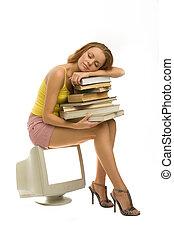 libri, lei, sonni