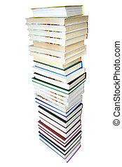 libri, mucchio