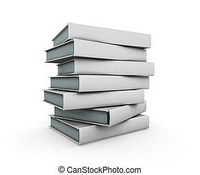 libri, pila
