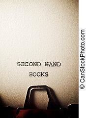 libri, seconda mano, testo