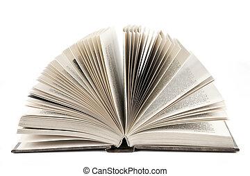 libro, abierto