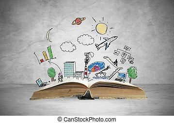 libro, affari