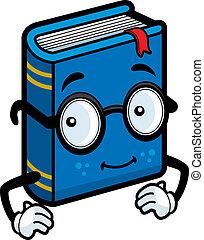 libro, anteojos